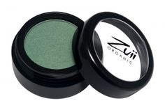 Zuii Organic Flora Eyeshadow Jade.  Zuii's unique Talc Free Certified Organic Floral Blend of rose, chamomile and jasmine powders enriched with natural vitamins and minerals delivers both a subtle and sophisticated colour palette to soothe and nourish your eyelids. No longer are lovers of shimmery eye shadows only for the young, now because of Zuii unique formulation there is no limitation.