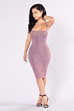 - Available in Charcoal and Plum - Scoop Neck - Sleeveless - Mineral Wash - Midi Length - 61% Polyester, 33% Rayon, 6% Spandex