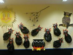 čerti - těla z černých pytlů do odpadkových košů