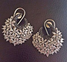 Jewerly Collection Organization 59 Ideas For 2019 Indian Jewelry Earrings, Jewelry Design Earrings, Indian Wedding Jewelry, Gold Earrings Designs, Indian Jewelry Sets, Ear Jewelry, Antique Earrings, Jewelery, Gold Jewelry