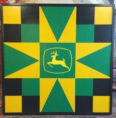 Custom John Deere by: Barn Quilts of Wabash County