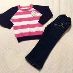 Toddler 2PC Girl's O… ($15) is on sale on Mercari, check it out! https://item.mercari.com/gl/m109466549/