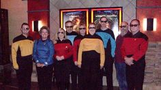 Linda Shuping Smith July 22 ·  Most of us in our 3 D glasses after the movie. Lt to Rt -- Brett Witcher,, Pam Giovanelli, me, Willy, Beth Ludeman-Hopkins, Glenda Kasey Blanks, Dan Blanks, Dennis W Henderson & Peter Hopkins. Several other members went to the later non-3 D showin