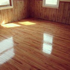Oak hardwood floor refinishing Columbia Heights MN