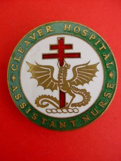 Cleaver Hospital Assistant Nurse Badge
