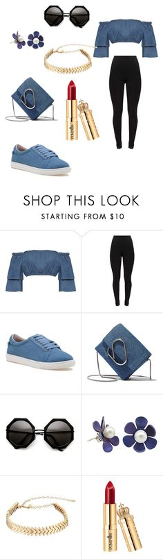 """""""17"""" by danaakhaled ❤ liked on Polyvore featuring WearAll, J/Slides, 3.1 Phillip Lim and Rebecca Minkoff"""