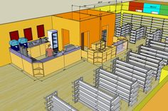 10 Tips for Better Store Layout Shop Shelving, Retail Shelving, Pop Design, Layout Design, Mini Mercado, Tiny House Furniture, Retail Architecture, Store Layout, Retail Store Design