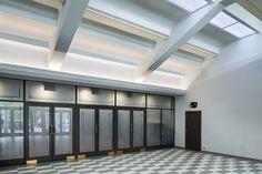 Lower Hutt Event Centre — S&T Lighting Concepts, Lighting Design, Light Highlights, Indirect Lighting, Event Themes, Entrance Doors, Large Windows, Atrium, Downlights