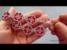 Beading Patterns Free, Beaded Jewelry Patterns, Seed Bead Tutorials, Beading Tutorials, Bead Jewellery, Diy Jewelry, Alphabet Beads, Seed Bead Bracelets, Bracelet Tutorial