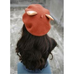 7c2e3efd237e8 Kawaii Fox Ear Beret Lolita Princess Hat  4 Colors   JU2053 Click link in  our bio to shop ☝ ⠀ ⠀ Want it FREE  Tag a…""
