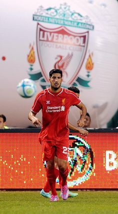 Liverpool v AS Roma Friendly at Fenway Park 23 July Liverpool Football Club, Liverpool Fc, Emre Can, As Roma, Fenway Park, Football Players, Sports, Life, Inspiration
