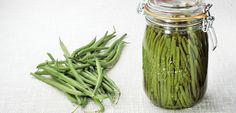 Préparer une recette avec des légumes frais au naturel : des conserves de haricots verts Le Parfait