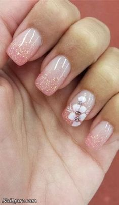 The Best Flowers Nail Art Designs – 100 pictures