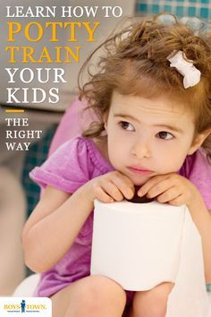 Many parents get nervous when they think about toilet training their young child. Boys Town would like to help get you past the myths and misconceptions by givingyou some practical, common sense information that can help make potty trainingyour child a more pleasant and satisfying experience. Check out boystown.org to get started!