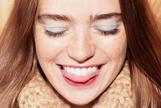 The Makeup: Wearable Blue Eye Shadow Inspired by Céline Fall 2015 Beauty