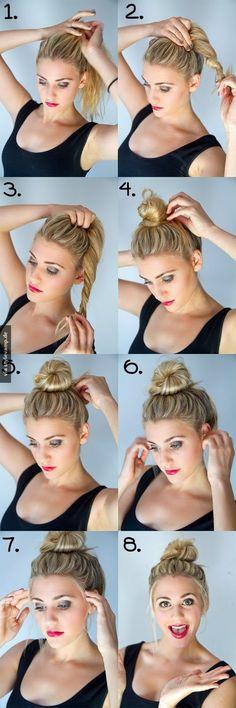 Top-knot bun