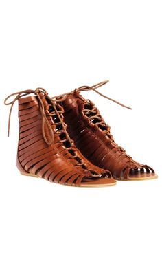 Gladiator sandals.. These are very bizarre but I like them!