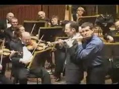 Hahaha! I have never seen two people play the same flute together - clever!