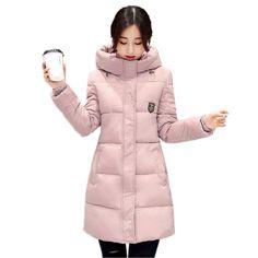 >> Click to Buy << Wadded Clothing Female 2017 New Women's Winter Long Jacket Down Cotton Jacket Korean Slim Parkas Ladies Coats Plus Size C209 #Affiliate
