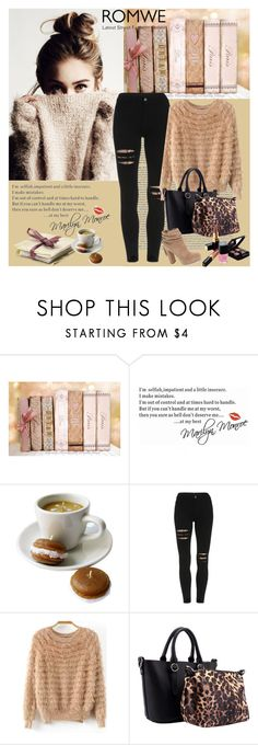 """Romwe 10/V"" by merima-p ❤ liked on Polyvore featuring Jessica Simpson and Chanel"