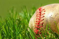 汚れた野球のボール 草むらの壁紙 | 壁紙キングダム PC・デスクトップ版