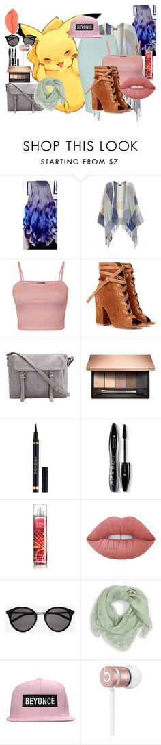 """Untitled #343"" by christinapayne1 ❤ liked on Polyvore featuring Dorothy Perkins, WearAll, Gianvito Rossi, Lancôme, Lime Crime, Yves Saint Laurent, Alexander McQueen, Beats by Dr. Dre and STELLA McCARTNEY"