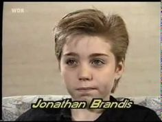 Jonathan-Brandis-Interview 1989 (German) - YouTube