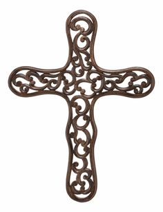 Links of Love wooden cross