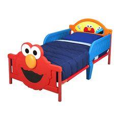 """Elmo 3D Toddler Bed - Delta - Toys """"R"""" Us"""