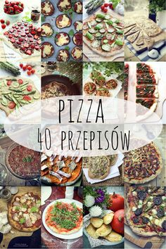 pizza - 40 przepisow Calzone, Chana Masala, Hamburger, Healthy Lifestyle, Sandwiches, Clean Eating, Food And Drink, Health Fitness, Menu