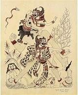I Gusti Nyoman Lempad (painter) Ubud Bali Bali Painting, Indonesian Art, Drawing Projects, Traditional Paintings, Balinese, Vintage Pictures, New Art, Art Drawings, Illustration Art