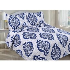 Shop for Medallion Quilt Set. Free Shipping on orders over $45 at Overstock.com - Your Online Fashion Bedding Outlet Store! Get 5% in rewards with Club O! - 19002701