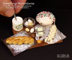 Hey, I found this really awesome Etsy listing at https://www.etsy.com/listing/215841707/making-bread-prep-board-112th-dollhouse
