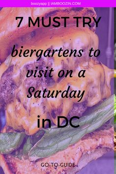 DC Happy Hour   7 MUST TRY Biergartens To Visit On A Saturday In DC...GO-TO-GUIDE. Click through for more! Bottomless Mimosas, Fun Drinks, Happy Hour, Washington Dc, Adventure Time, Night Life, Beer, Food, Root Beer