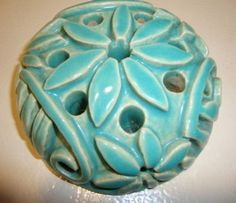 Catalina Handmade Pottery Flower Frog Walter 1935 (06/13/2010)