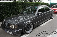 Grey Mercedes Benz W201 190 | Flickr - Photo Sharing!