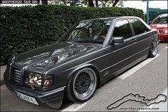 Grey Mercedes Benz W201 190 | Flickr - Photo Sharing!