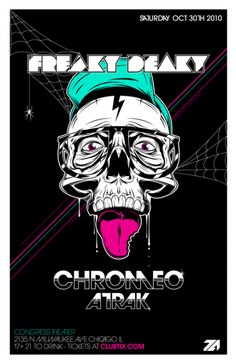 That Freaky Deaky Chromeo Poster