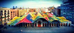 The Santa Caterina Market in El Born! https://plus.google.com/+apartmentbarcelona/posts