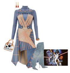 """Star Wars"" by chileez ❤ liked on Polyvore featuring Dolce&Gabbana, Rosantica and Atelier Maï Martin"