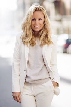 White - Sofi Fahrman wearing Dagmar Suit and Céline Skates. Pretty Outfits, Cool Outfits, Casual Outfits, Pretty Clothes, Simple Style, My Style, Corporate Fashion, Basic Outfits, Elegant Outfit