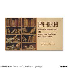 How to design an author business card writing labs and novelist book writer author business card colourmoves