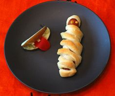 Mummy Dogs and Apple Mouths