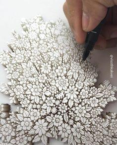 Os inacreditáveis desenhos 3D de Visoth Kakvei