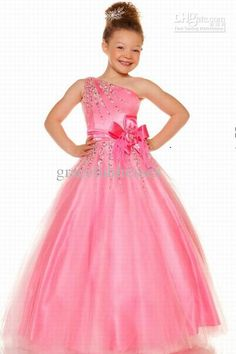 Fall new elie saab beadings chiffon backless long sleeve evening dress wholesale 2013 hot a line one shoulder tulle with bows beading pageant dresses kids junglespirit Images