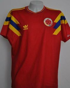 Colombia 1990 adidas Home