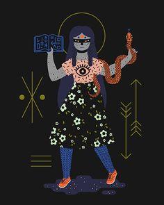 ilustração de Camille Chew http://www.lembrancasartminas.com.br/