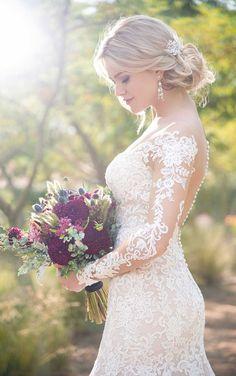 Available at Something Blue Bridal! #weddinggown #plussize #essenseofaustralia