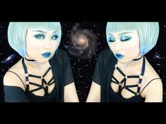 Thank you for watching ! ❤ This is my 2nd glitter look ! Hope you enjoyed watching me transform into an alien mermaid ! c: Harness & choker I'm wearing : htt...