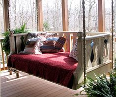 """Kendall Boggs Fine Arts and Crafts: """"Hanging Porch Beds"""""""